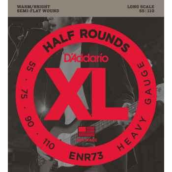 D´addario ENR73 Half Rounds Heavy cuerdas para bajo